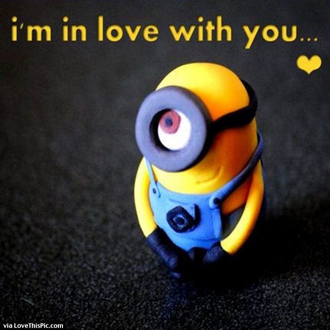 I Love You Quotes By Minions : Am In Love With You Minion Quote Pictures, Photos, and Images for ...
