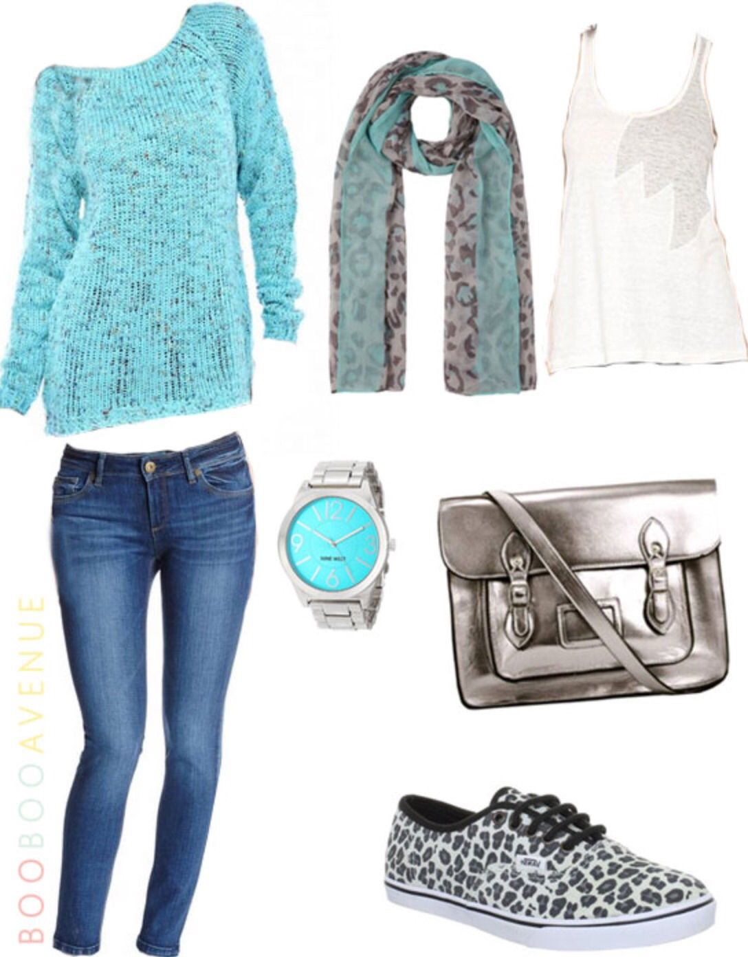 Teal Top And Jeans Pictures, Photos, And Images For