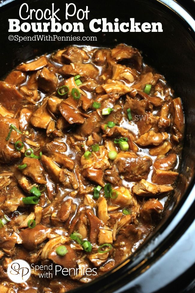 Crock Pot Bourbon Chicken Pictures, Photos, and Images for Facebook ...