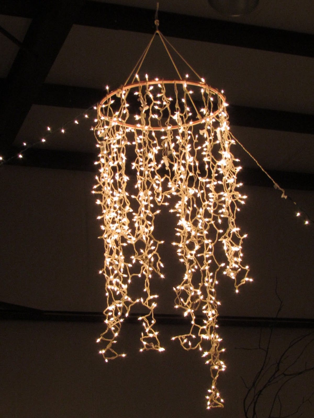 Hula Hoop Chandelier Pictures, Photos, and Images for Facebook ...