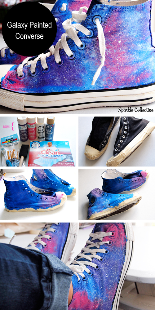 Diy Painted Converse Sneakers Pictures Photos And Images