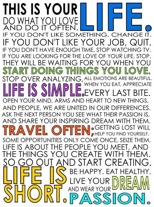 This Is Your Life Pictures Photos And Images For Facebook Tumblr Amazing This Is Your Life Quote