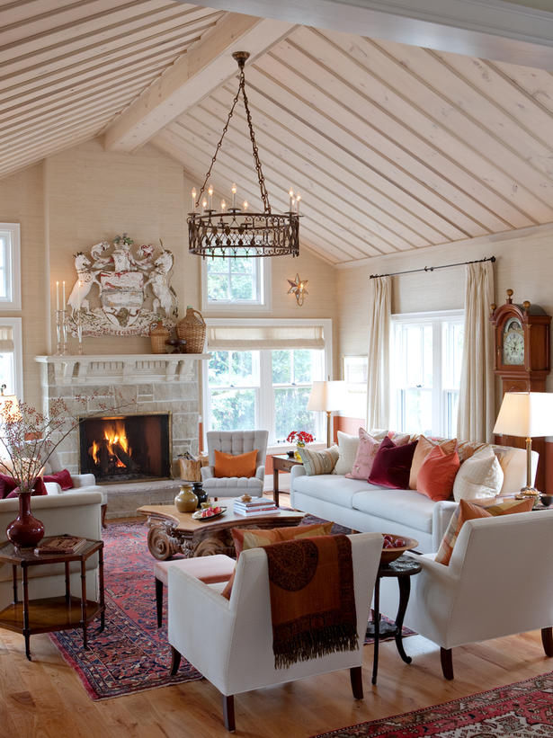Autumn Living Room Decorating: Living Room Decorated For Autumn Pictures, Photos, And