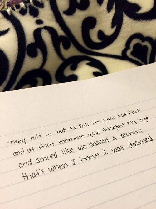 Falling In Love Too Quickly Quotes: Thye Told Me Not To Fall In Love Too Fast Pictures, Photos