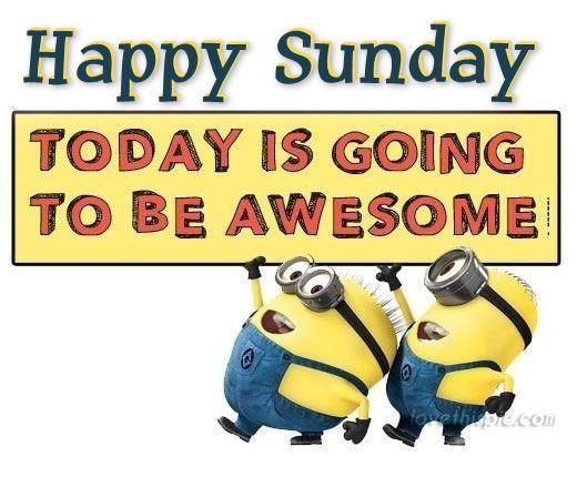 Minions Happy Sunday Quote