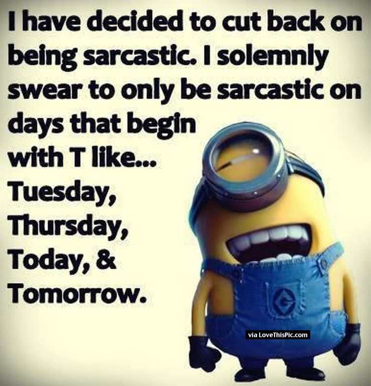Sarcastic Minion Pictures, Photos, and Images for Facebook ...