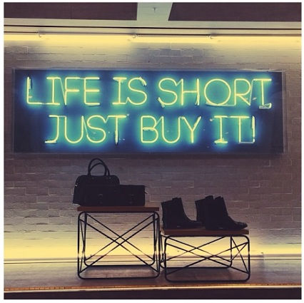 Life Is Short Just Buy It Pictures Photos And Images