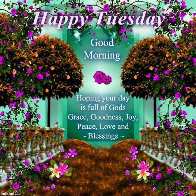 Good Morning Quotes Blessings: Happy Tuesday Good Morning Blessings Pictures, Photos, And