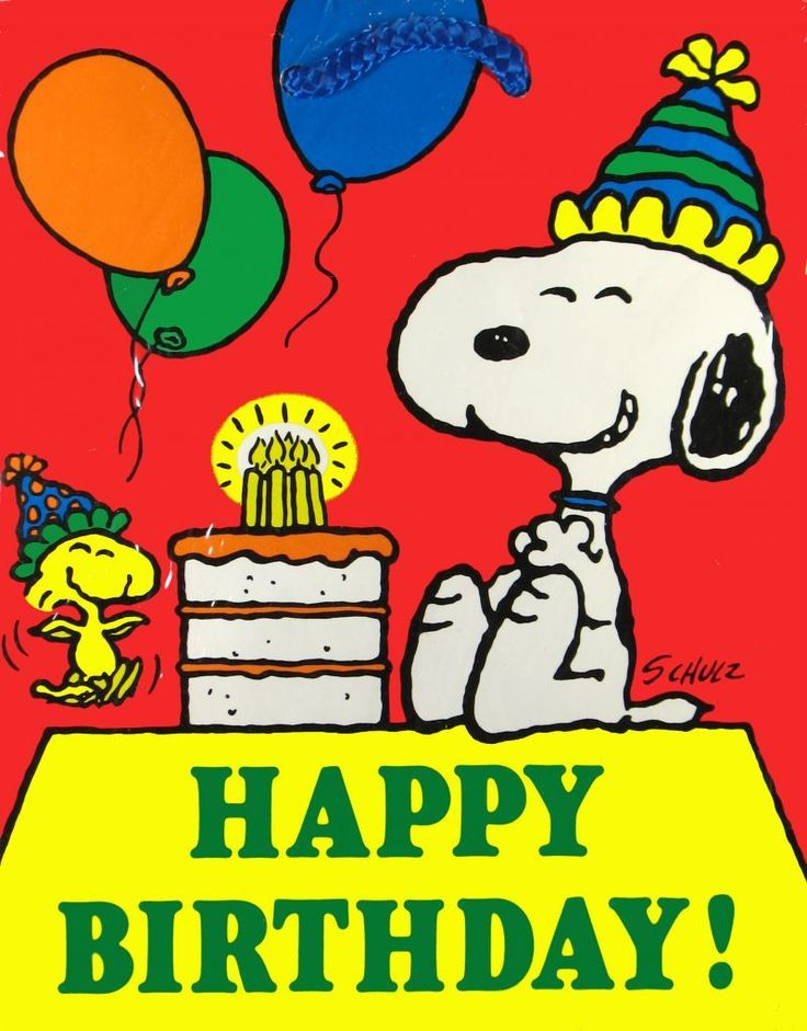 snoopy happy birthday images