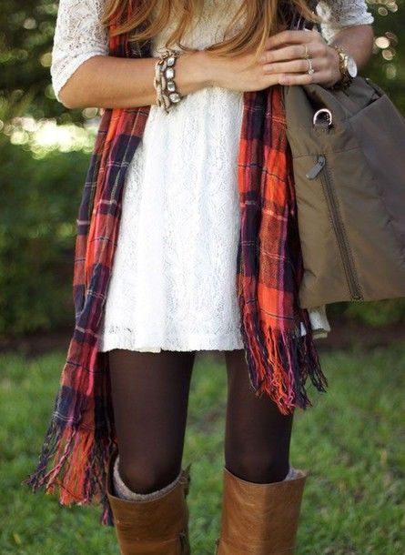 lace dress with tights and boots pictures photos and