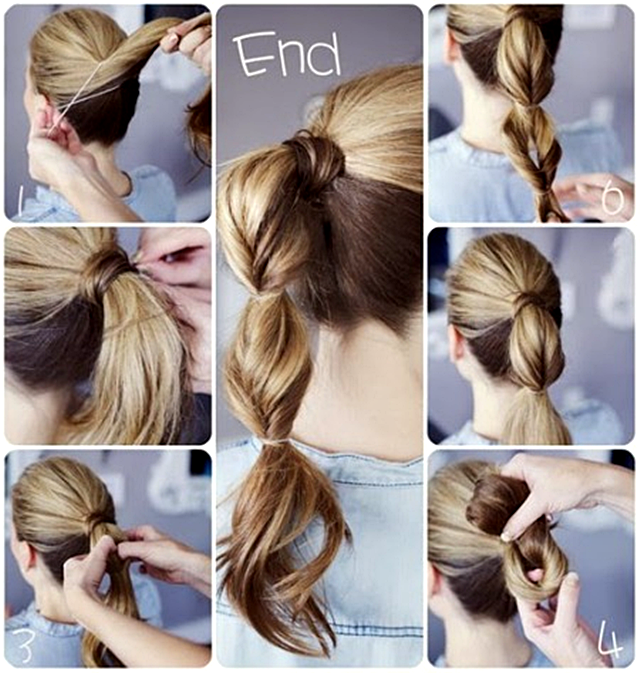 Cute Easy Quick Hairstyle Pictures, Photos, And Images For