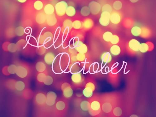 Hello October With Bokeh Lights Pictures, Photos, and ...