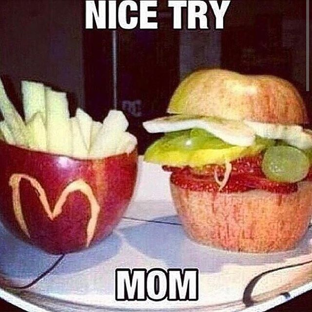 Nice Try Mom Pictures, Photos, and Images for Facebook