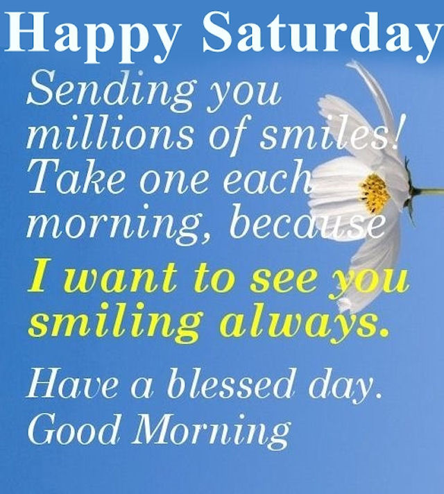 Positive Saturday Morning Quotes: Saturday Smiles Pictures, Photos, And Images For Facebook