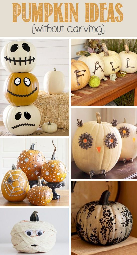 Pumpkin Ideas Without Carving Pictures Photos And Images