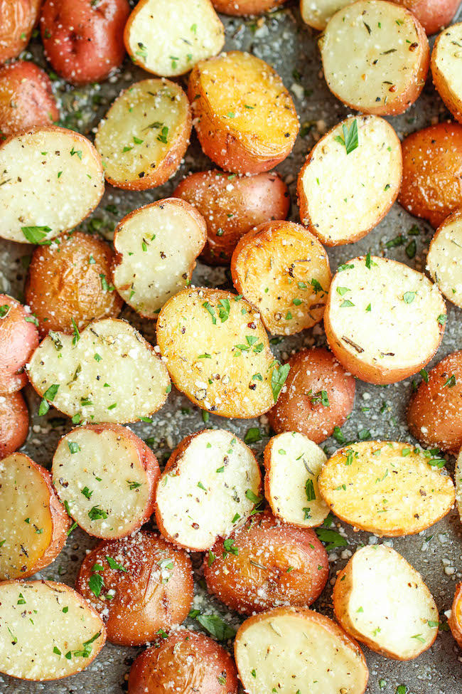 Garlic Parmesan Roasted Potatoes Pictures, Photos, and Images for ...