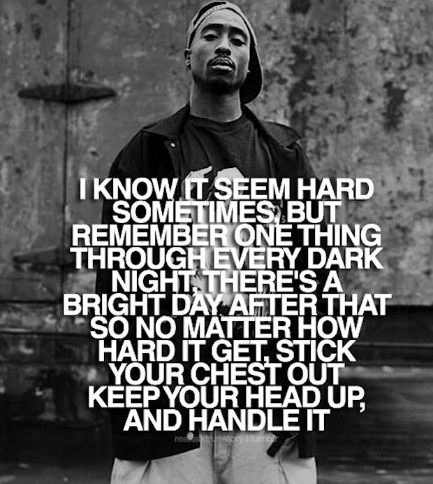 2pac Quotes Magnificent Tupac I Know It Seems Hard Quote Pictures Photos And Images For