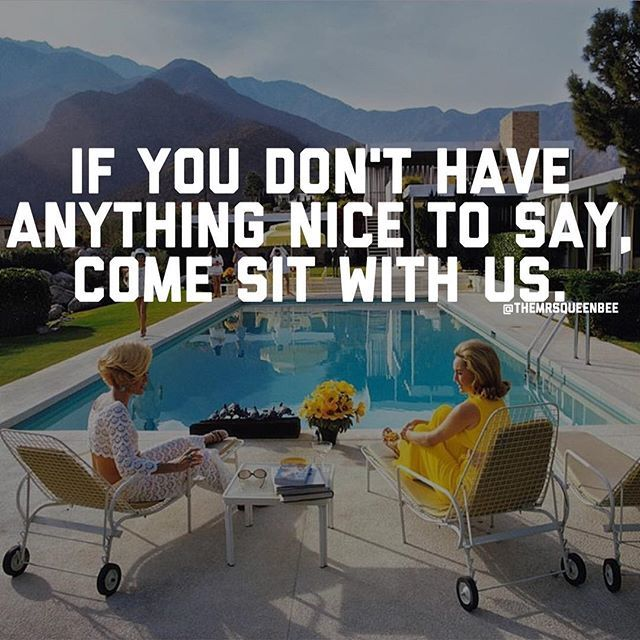 I Want To Cuddle With You Quotes: If You Don't Have Anything Nice To Say Come Sit With Us