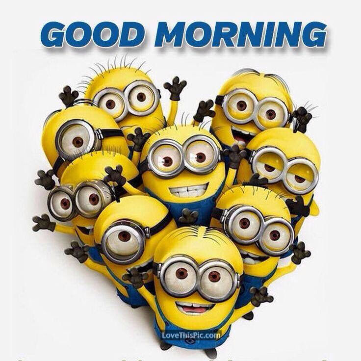 Good Morning Heart Minions Pictures, Photos, and Images ...