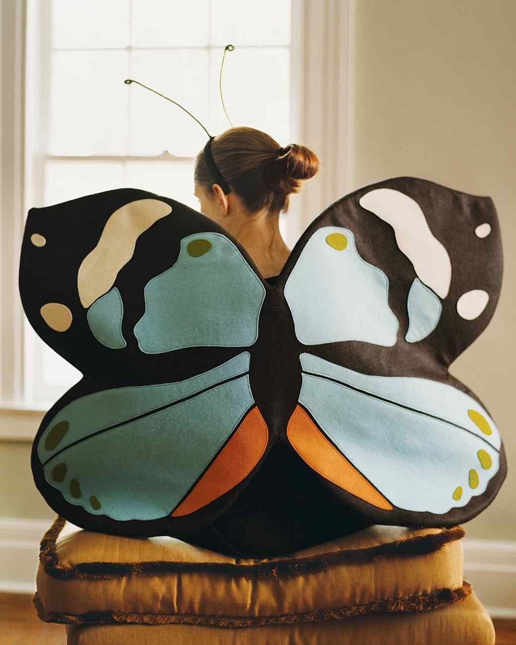 Fantasia de borboleta como fazer