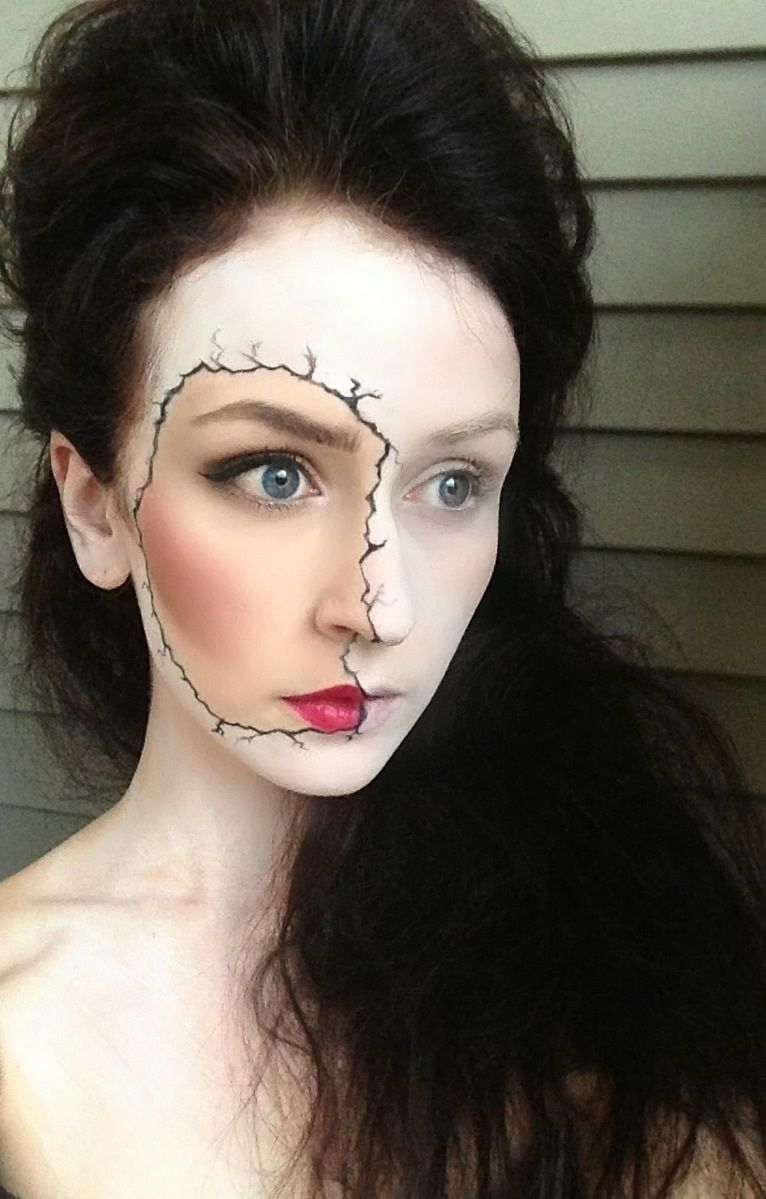 cracked porcelain doll pictures, photos, and images for facebook