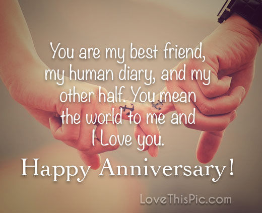 Love Anniversary Quotes I Love You Happy Anniversary Pictures, Photos, and Images for  Love Anniversary Quotes