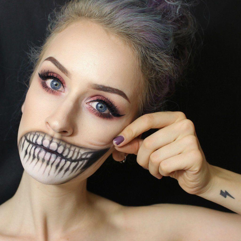 Crazy Teeth Makeup Idea