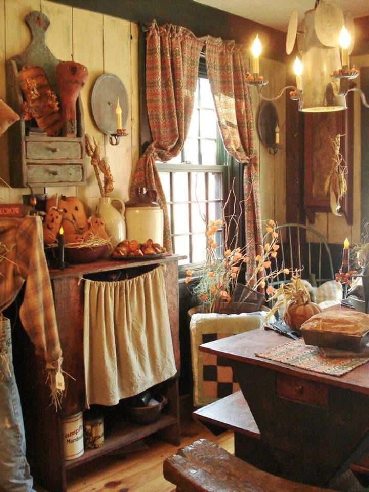 Primitive Fall Home Decor