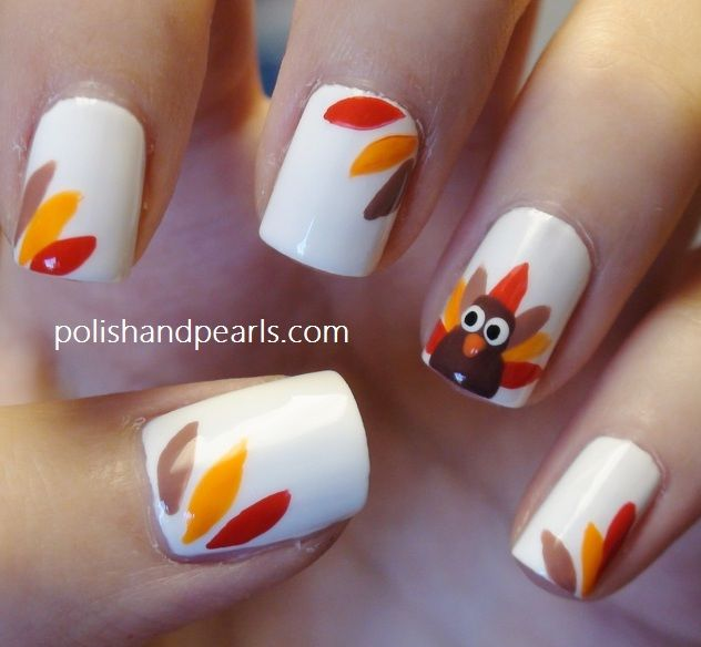 Thanksgiving nail art pictures photos and images for facebook thanksgiving nail art prinsesfo Image collections
