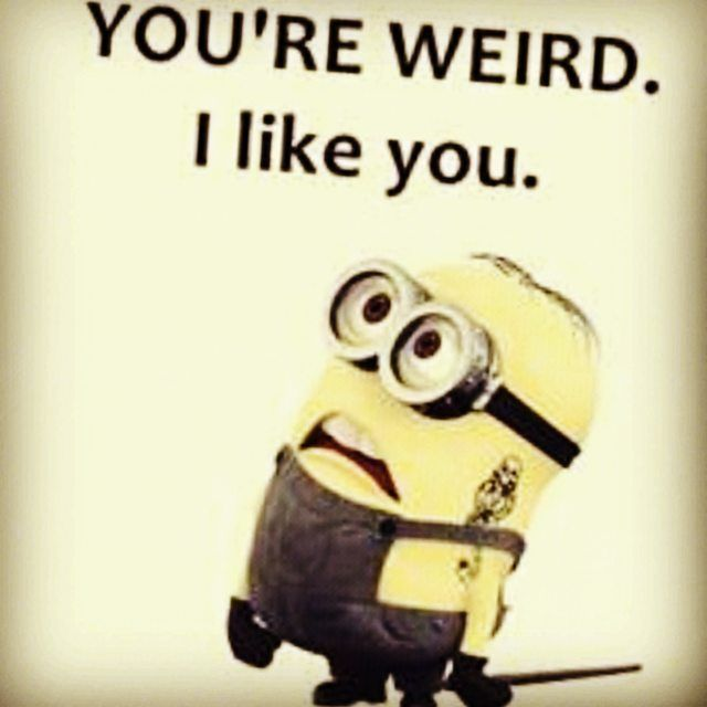 Youre Weird, I Like You Pictures, Photos, and Images for