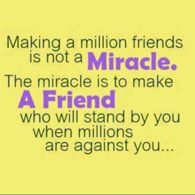 what a friend is not