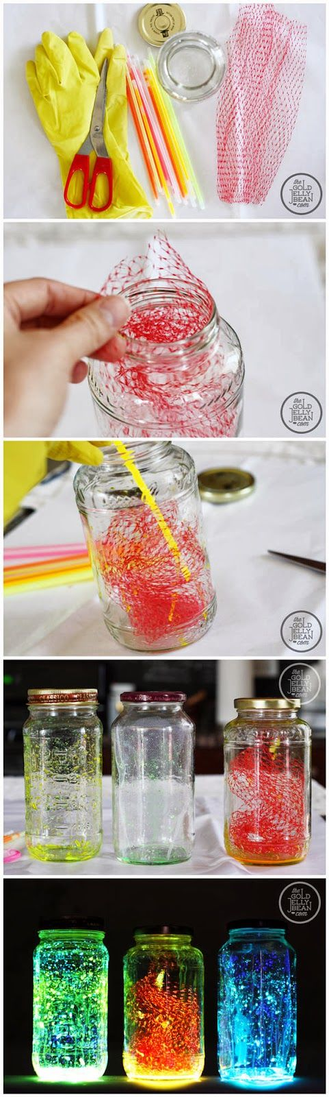 Making Glow Jars Pictures, Photos, and Images for Facebook ...