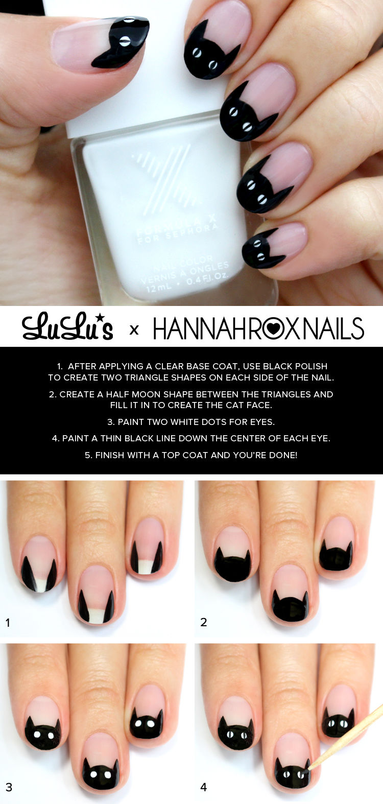 how to cut black cat nail