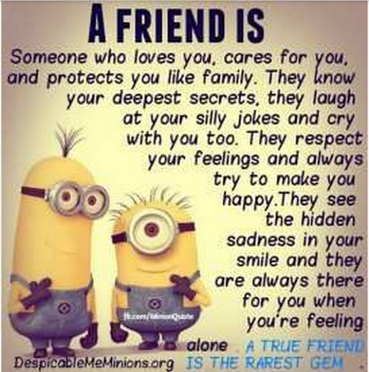 Minion Quote About Friendship