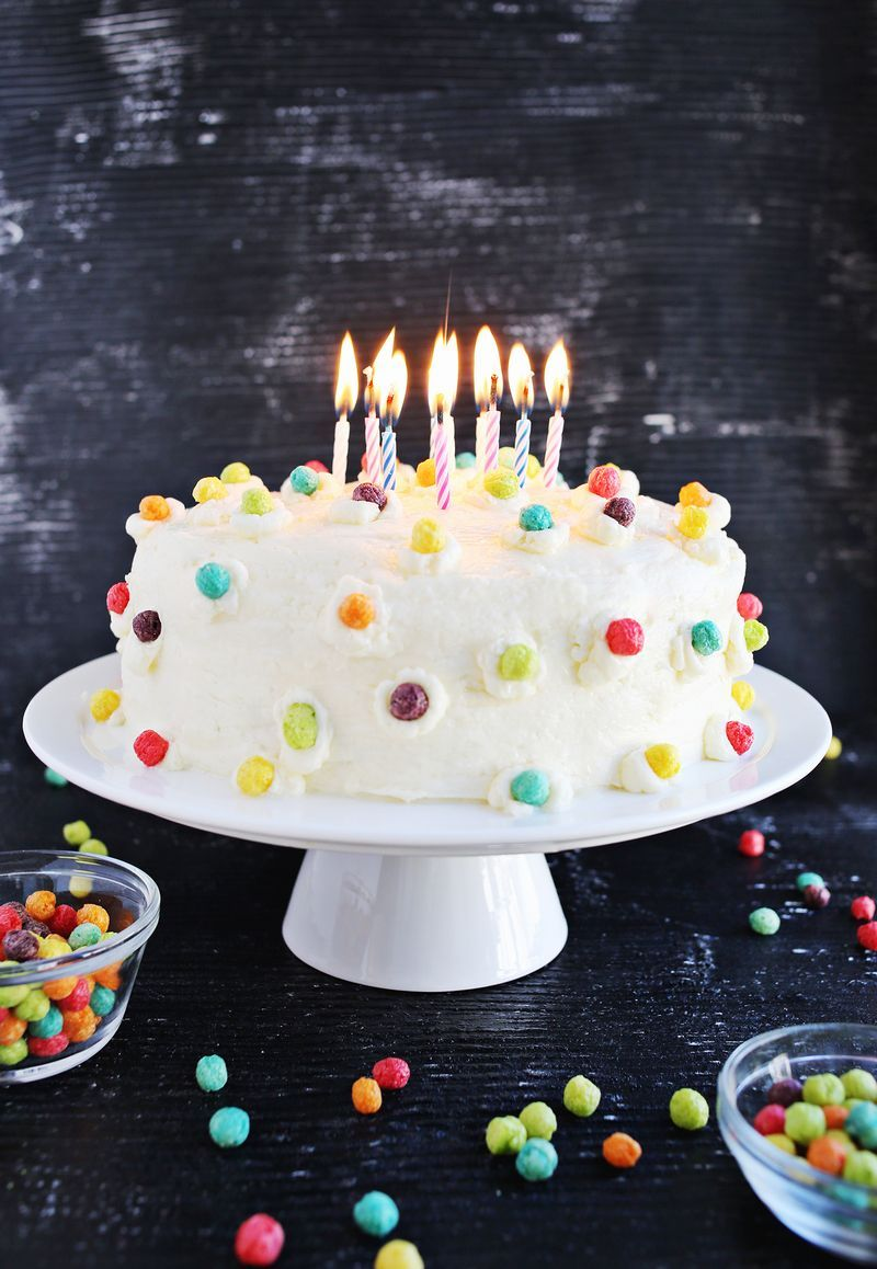 Funfetti Buttermilk Birthday Cake Pictures Photos And Images For