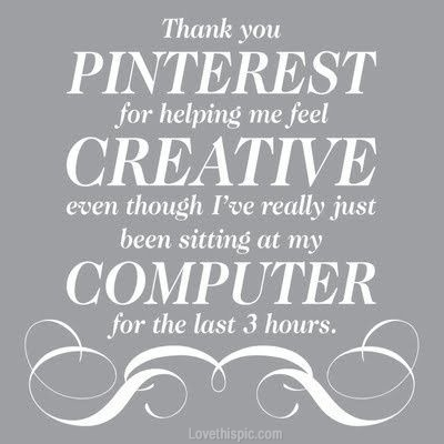 thank you pinterest