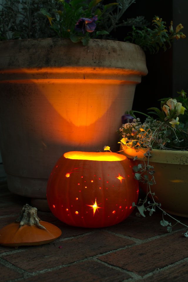 Starry Night Pumpkin Luminary Pictures Photos And Images