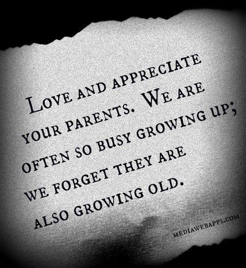 love and appreciate your parents pictures photos and