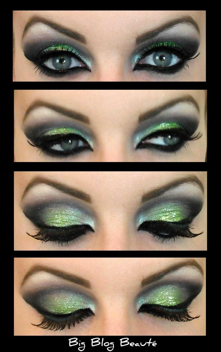 green smokey eye makeup pictures photos and images for. Black Bedroom Furniture Sets. Home Design Ideas
