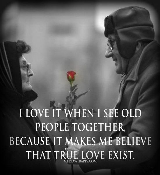 Funny Old Fashioned Quotes: I Love It When I See Older Couples Still Together Pictures