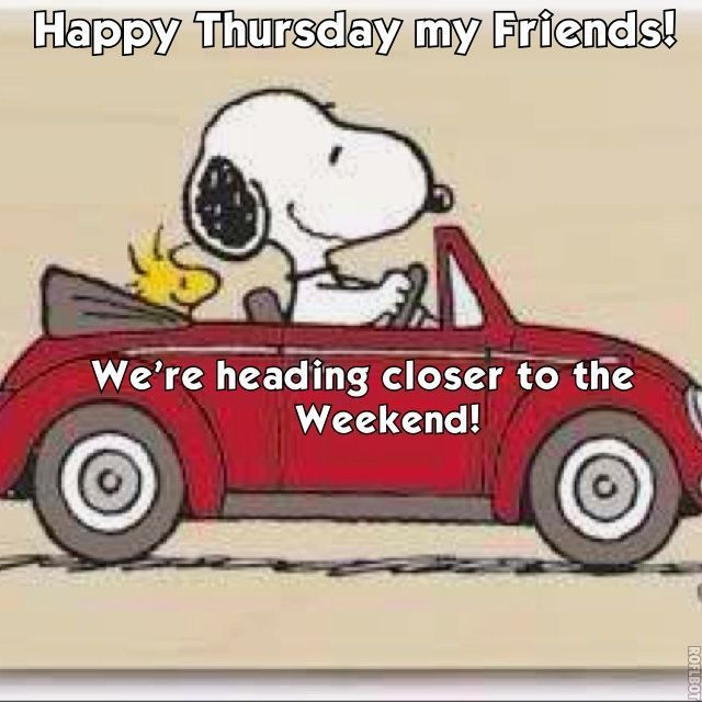 Image result for happy thursday snoopy gif