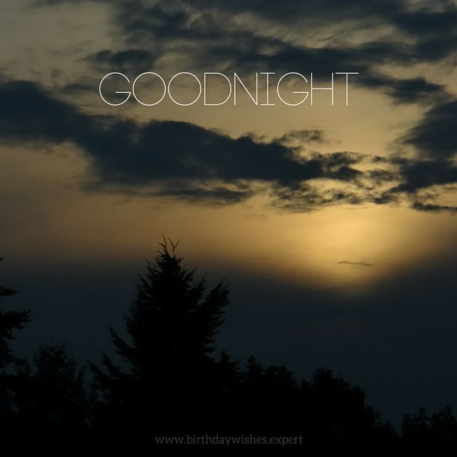 Goodnight image with sunset pictures photos and images - Good night nature pic ...