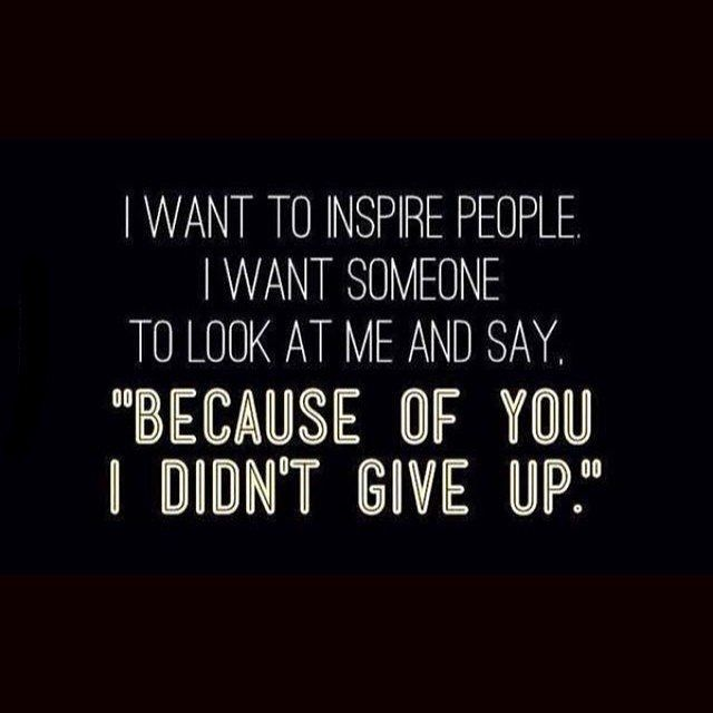 Quotes About Inspiring Others: I Want To Inspire People Pictures, Photos, And Images For