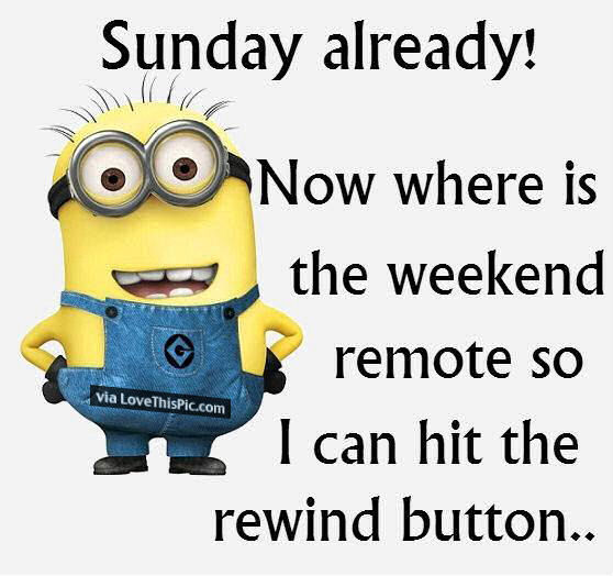 Sunday Morning Funny Meme : Funny sunday minion pictures photos and images for