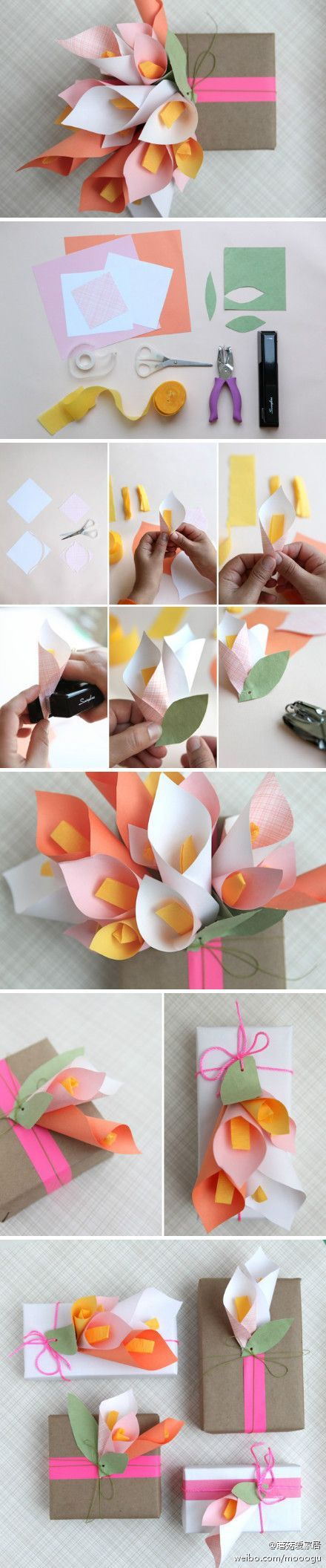 How to make a paper flower bouquet pictures photos and images for how to make a paper flower bouquet izmirmasajfo