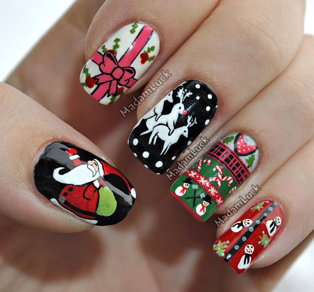 Christmas Sweater Nail Art Pictures Photos And Images For Facebook