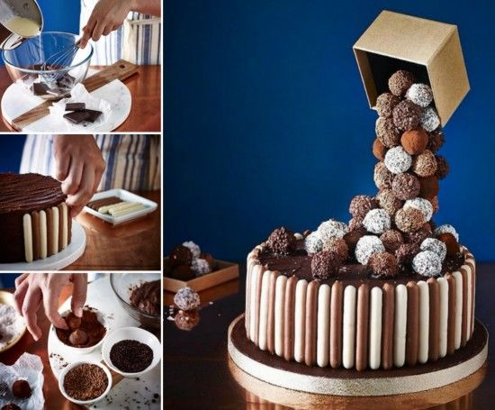 Anti Gravity Cake Recipe Pictures Photos And Images For