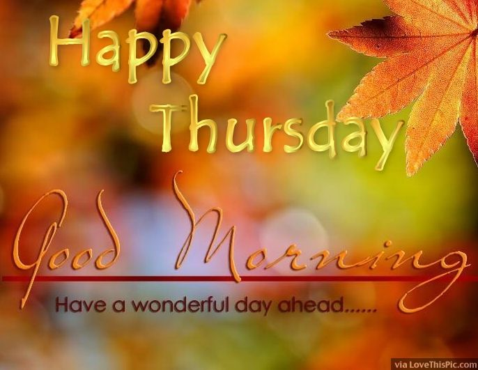 Image result for happy thursday morning quotes