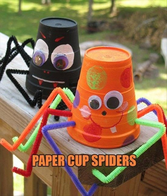 Paper Cup Spider Craft Pictures Photos And Images For