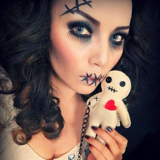 Voodoo Doll Makeup Pictures, Photos, and Images for ...